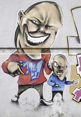 Graffiti father and son