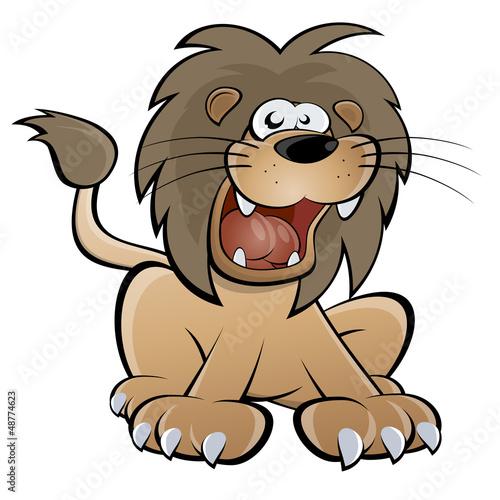 löwe brüllen
