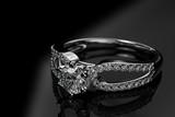 Fototapeta diament - luksus - Biżuteria