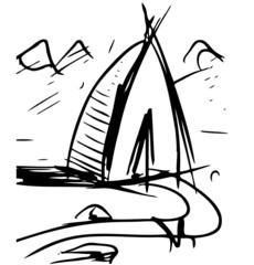 Cartoon wigwam