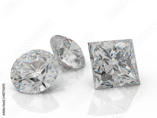 Round_diamonds_on_white_background