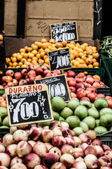 Fruit market in Chile