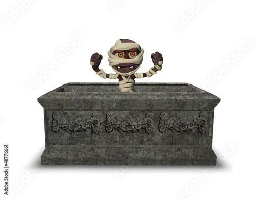 Little Mummy In a Tomb