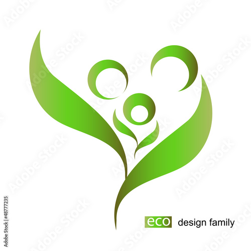 eco bio design vector