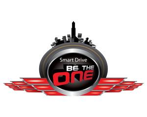 Vector of Smart drive concept