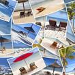 photos souvenirs de vacances dans les îles