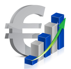 euro currency icon style