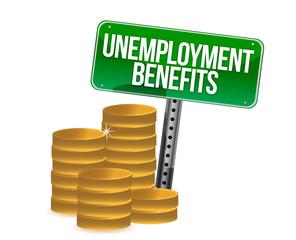 unemployment benefits coins