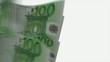 100 euro цикличное движение с альфа каналом