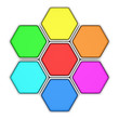 Multicolored hexagons