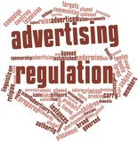 Word cloud for Advertising regulation poster
