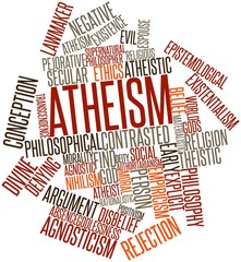 Word cloud for Atheism