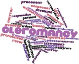 Word cloud for Cleromancy