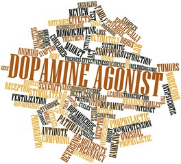 Word cloud for Dopamine agonist