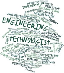 Word cloud for Engineering technologist