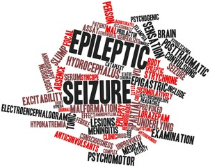 Word cloud for Epileptic seizure