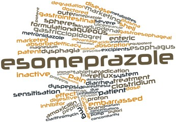 Word cloud for Esomeprazole