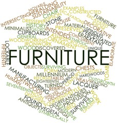 Word cloud for Furniture