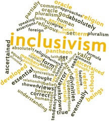 Word cloud for Inclusivism