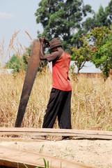 Carpenter in Northern Zambia
