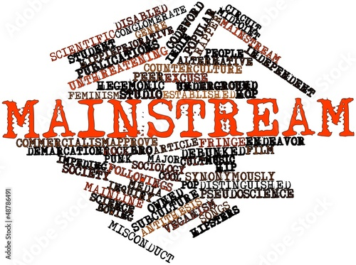 Word cloud for Mainstream