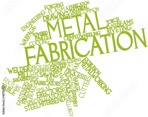 Word cloud for Metal fabrication