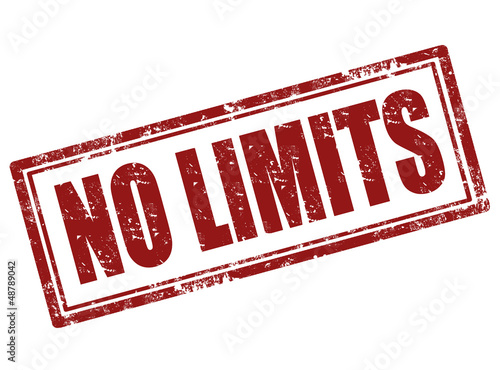 No limits stamp