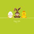 Egg, Bunny & Duck Green