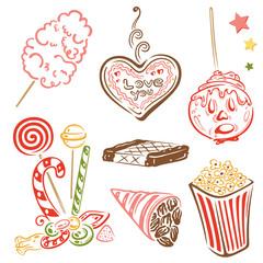 Kirmes, Weihnachtsmarkt, Oktoberfest, Süßigkeiten