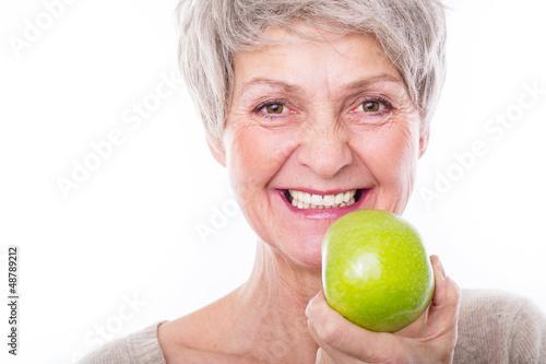 Leinwandbild Motiv gesunde ernährung