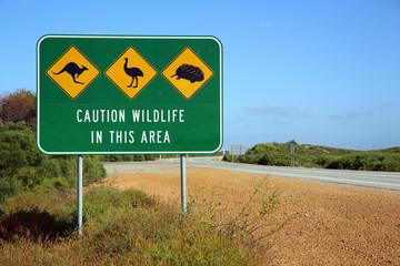 Road Sign. Australia