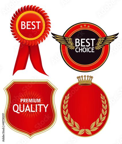 Qualitäts Plaketten