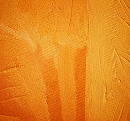 abstract painting for an interior of orange shades,  illustratio