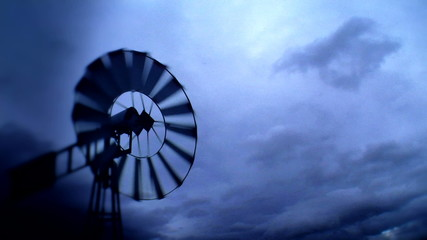 Windmill with Wind Turbine 1