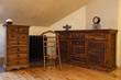 Cloudy home - vintage dresser