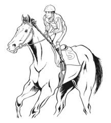 競馬、馬03