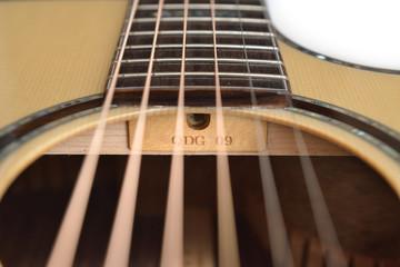 Guitar Truss Raod hole