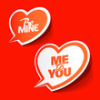 Be Mine and Me to You - enamored bubbles