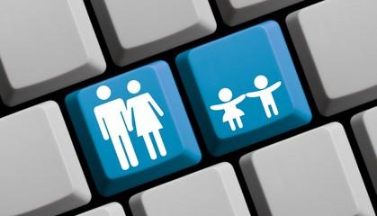 Eltern und Kinder online