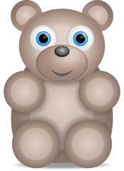 kleiner brauner Teddybär