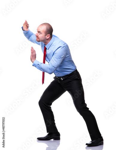 man push position