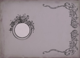 Elegant frame illustration