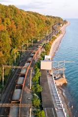 railway in Black Sea