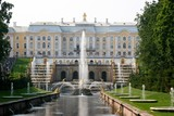 Grand Peterhof Palace and Grand Cascade in St. Petersburg