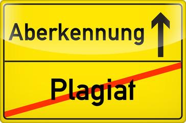 Plagiat?Aberkennung!