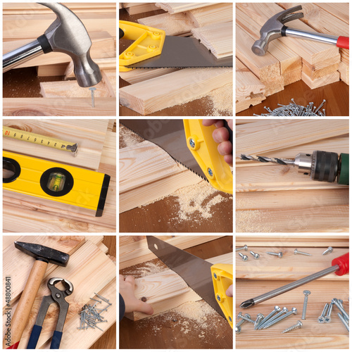 Woodwork and carpentry tools