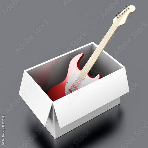 Gitarre im Versand