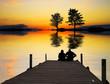 amor en el lago