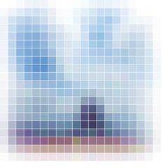 Mosaic background. Abstract vector illustration.