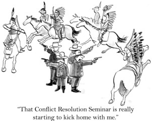 Soldiers of Custer's command like the seminar
